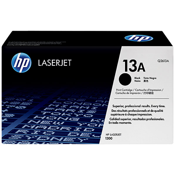 HP 13A  Black Original Laserjet Toner Cartridge (Q2613A)