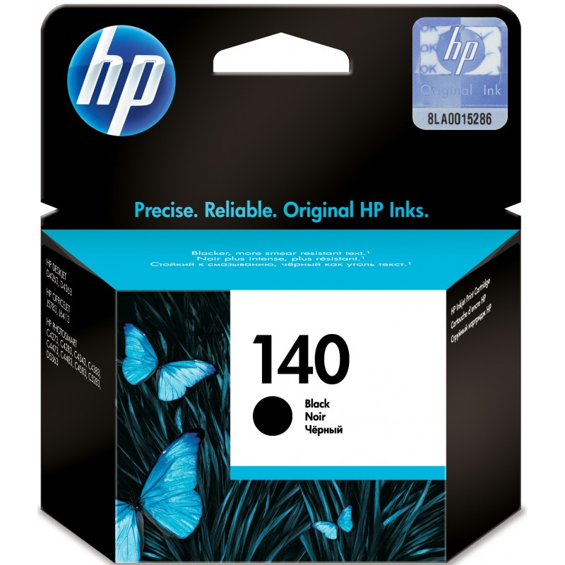 HP Ink 140 Black Ink Cartridge (CB335HE)