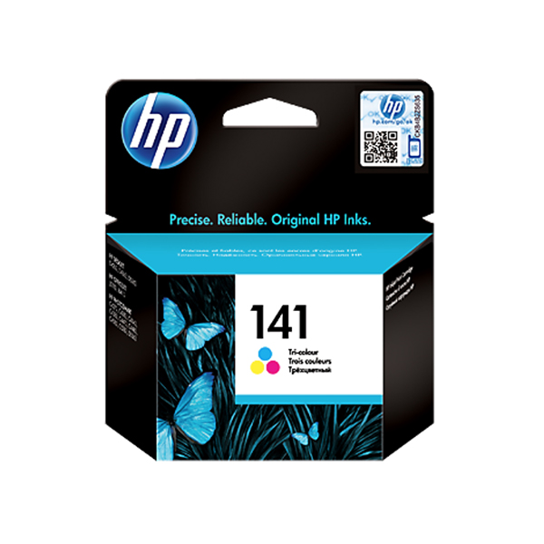 HP Ink 141 Tri-color Ink Cartridge (CB337HE)