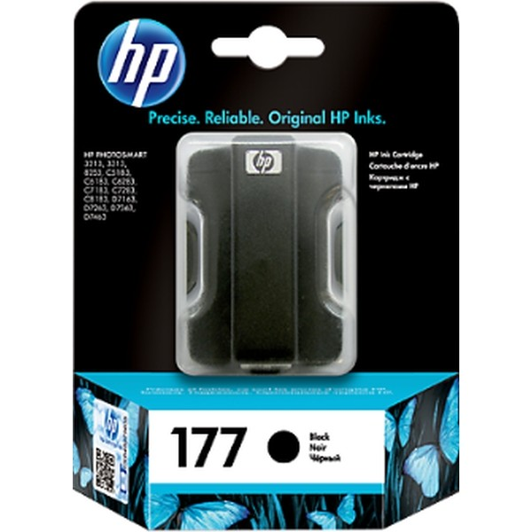 HP Ink 177 Black Ink Cartridge (C8721HE)