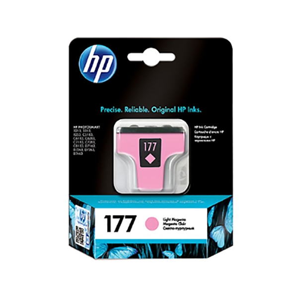 HP Ink 177 Light Magenta Pink Cartridge (C8775HE)