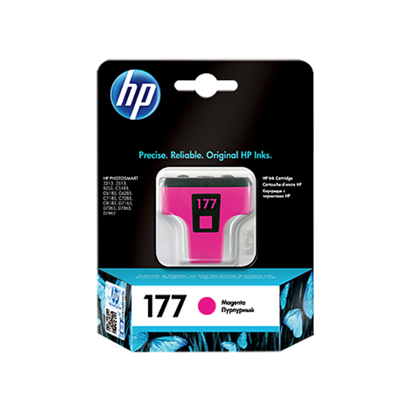 HP Ink 177 Magenta Ink Cartridge (C8772HE)