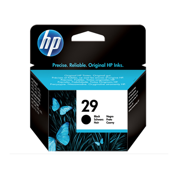 HP Ink 29 Black Ink Cartridge (51629AE)