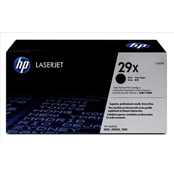 HP 29X Black Toner (C4129X)