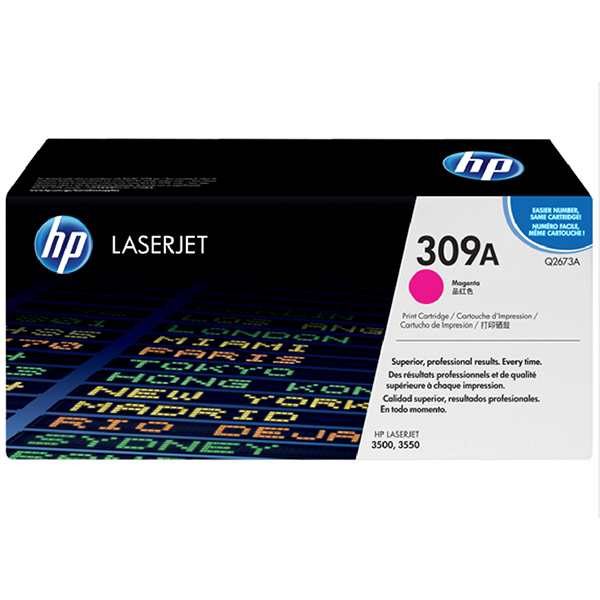 HP 309A Magenta Toner Cartridge (Q2673A)