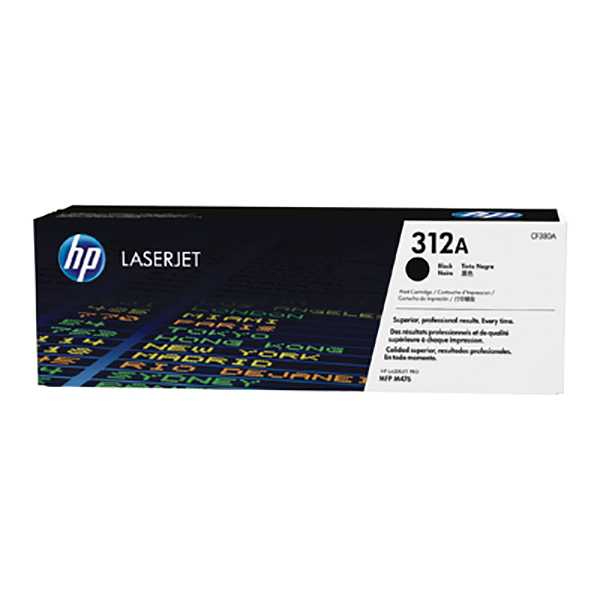 HP 312A Black Toner (CF380A)