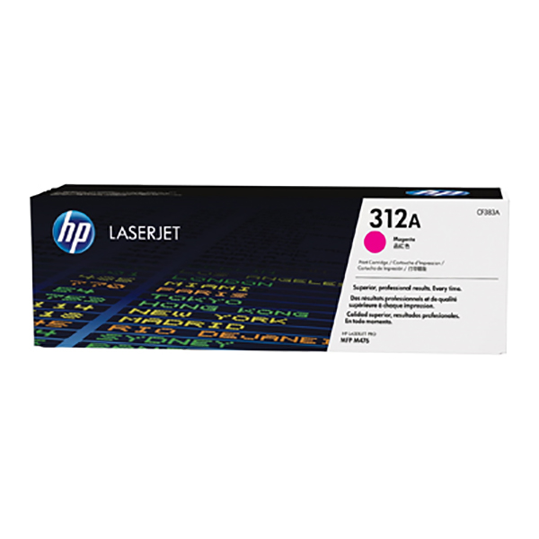 HP 312A Magenta Original Laserjet Toner Cartridge (CF383A)
