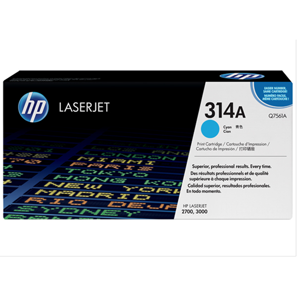 HP 314A Cyan Print Cartridge (Q7561A)