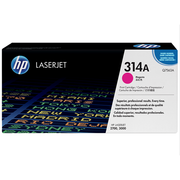 HP 314A Magenta Print Cartridge (Q7563A)