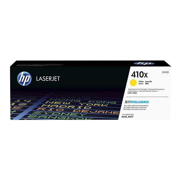 HP 410A (CF412) Yellow Toner Cartridge