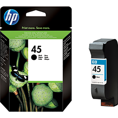 HP Ink 45 Black Ink Cartridge (51645AE)