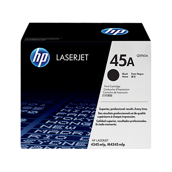 HP 45A Black Original Laserjet Toner Cartridge (Q5945A)