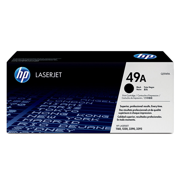 HP 49A Black Laserjet Toner Cartridge (Q5949A)