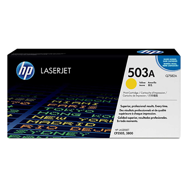 HP 503A Yellow Print Cartridge (Q7582A)