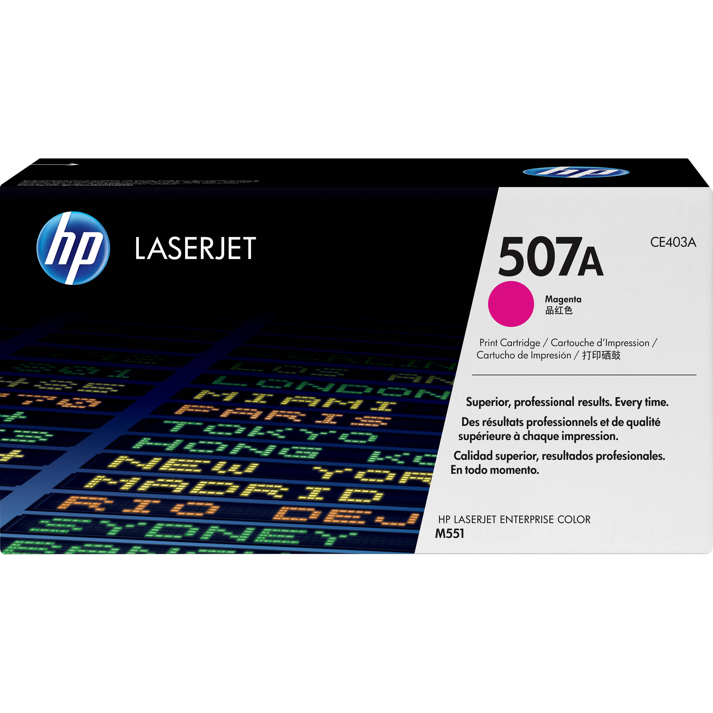 HP 507A Magenta Toner Cartridge (CE403A)