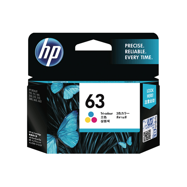 HP Ink 63 Colour (F6U61AA)