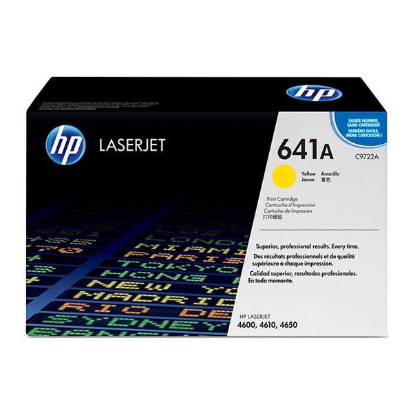 HP 641A Yellow Print Cartridge (C9722A)