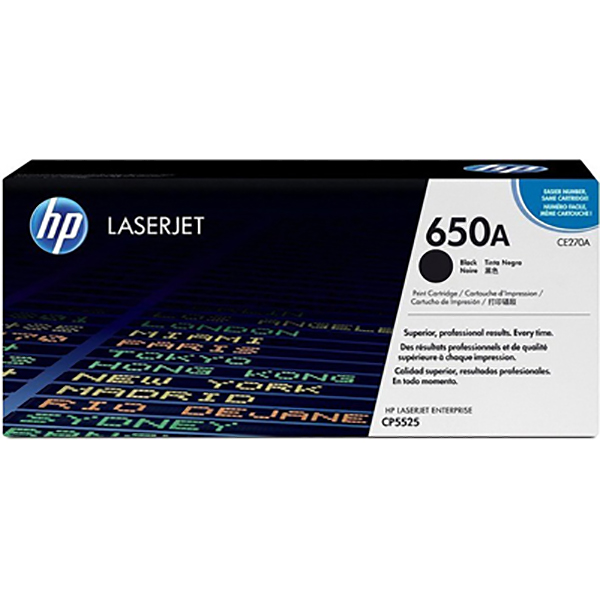 HP Toner CE270A 650A Black