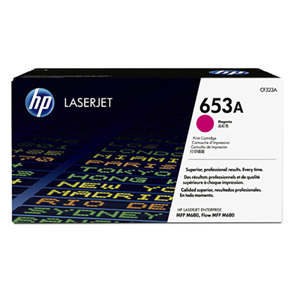 HP 653A Magenta Original Laserjet Toner Cartridge (CF323A)