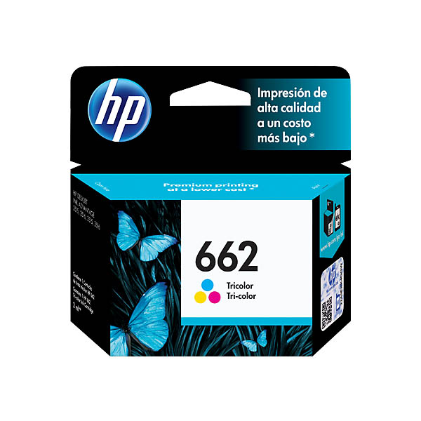 HP Ink 662 (Colour) CZ104AL