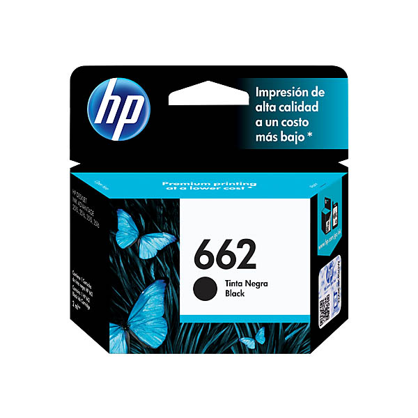 HP Ink 662 (Black) CZ103AL