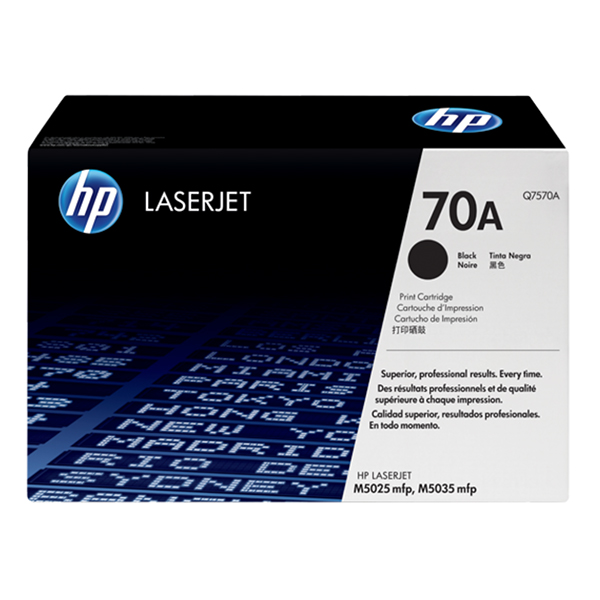 HP 70A Black Print Cartridge (Q7570A)
