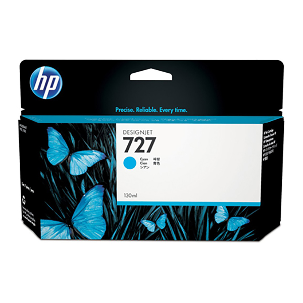 HP Ink 727 130ml (Cyan)