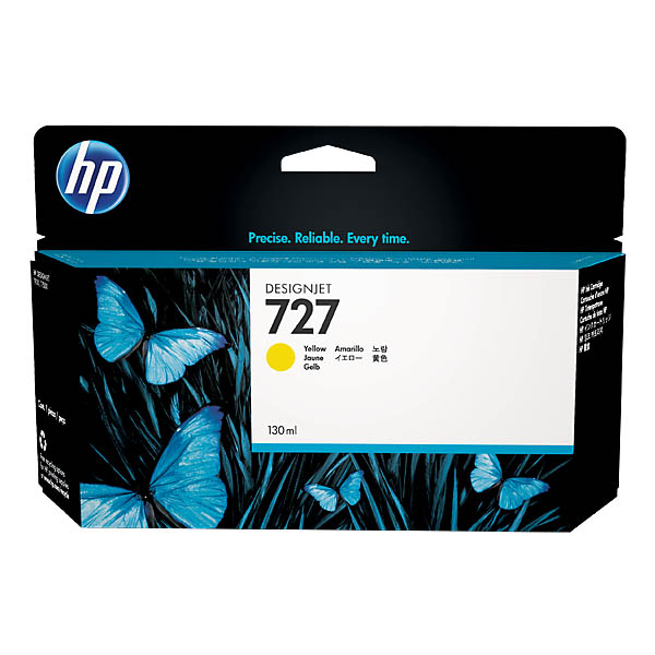 HP Ink 727 130ml (Yellow)