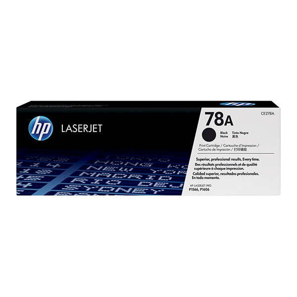 HP 78A Black Original Laserjet Toner Cartridge (CE278A)