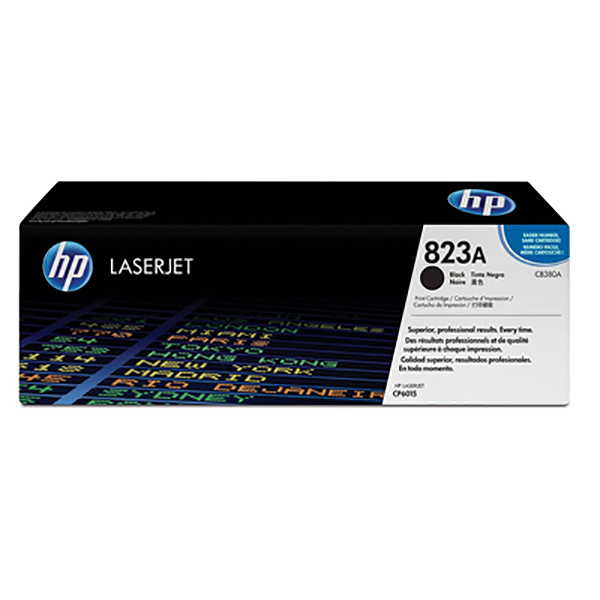 HP 823A Black Original Laserjet Toner Cartridge (CB380A)