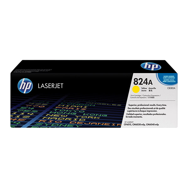 HP 824A Yellow Toner (CB382A)