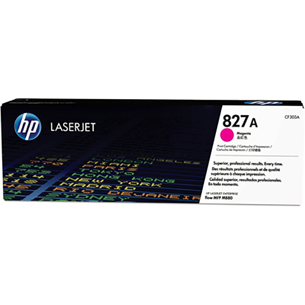 HP 827A Magenta Toner Cartridge (CF303A)