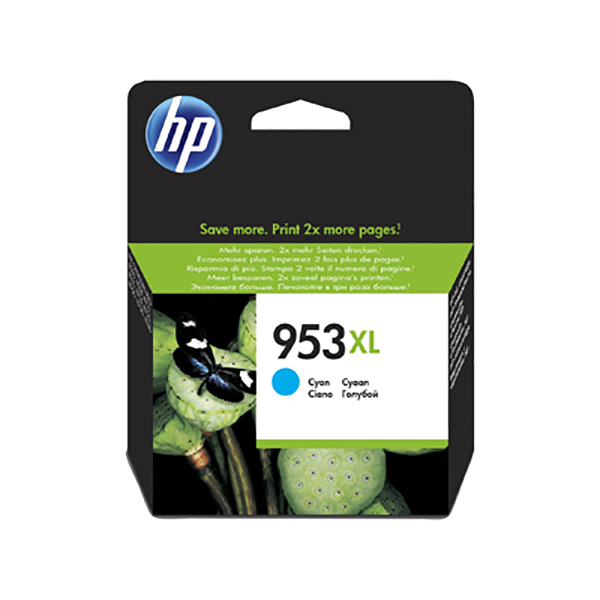 HP Ink 953XL F6U16AE (Cyan)