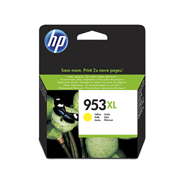 HP Ink 953XL F6U18AE (Yellow)