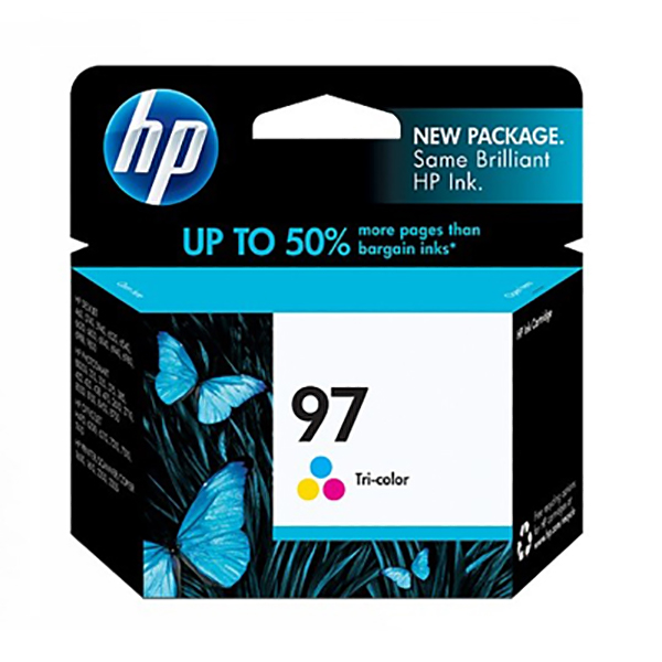 HP Ink 97 Tri-color Original Ink Cartridge  (C9363WA)
