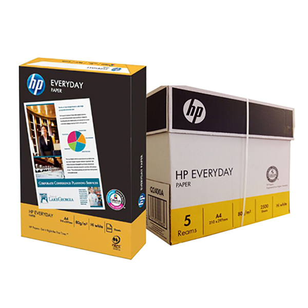 HP Everyday Photocopy Paper 80gsm - A4 (box/5rm)