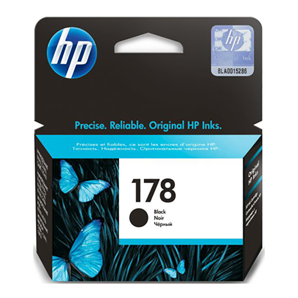 HP Ink 178 Black Ink Cartridge (CB316HE)