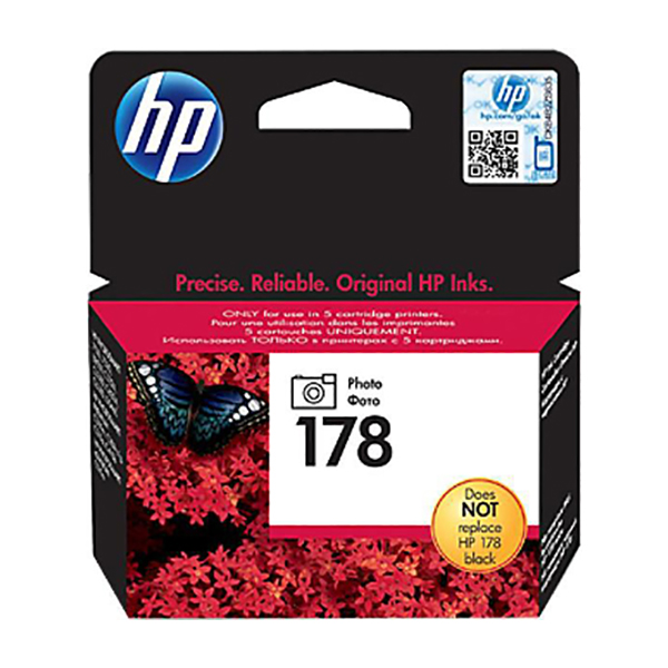 HP Ink 178 Photo Original Ink Cartridge (CB317HE)