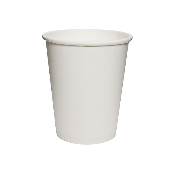 Hotpack Paper Cup 8oz 240ml (pkt/50pcs)