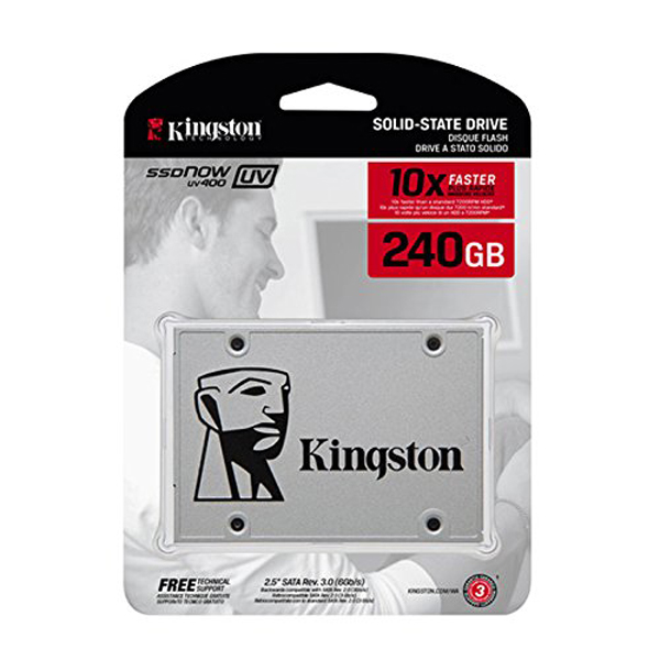 Kingston 240GB SSDNow UV400 Series (Single Drive)
