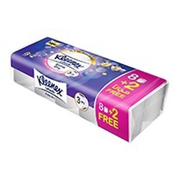 Kleenex Bath tissue extra dry 8+2 (pkt/10pc)