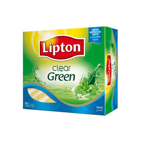 Lipton Green Tea Bag - Clear (pkt/100pcs)