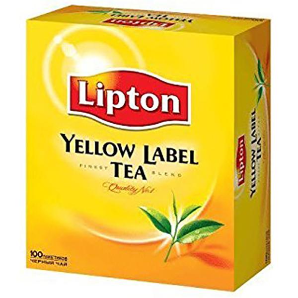 Lipton Yellow Tea Bag - 2g (pkt/100pcs)