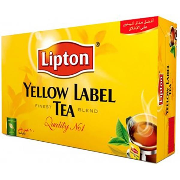 Lipton Yellow Label Tea Bag (pkt/200pcs)