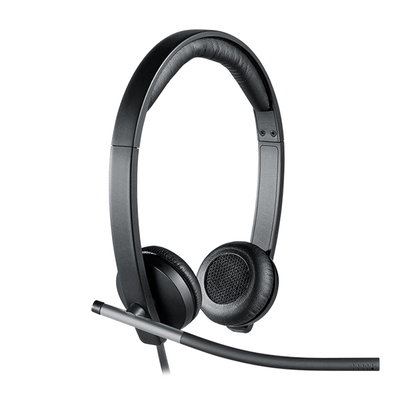 Logitech H650e Stereo USB Headset- Business Series