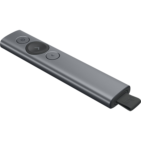 Logitech SPOTLIGHT Wireless Professional Presenter (Slate)