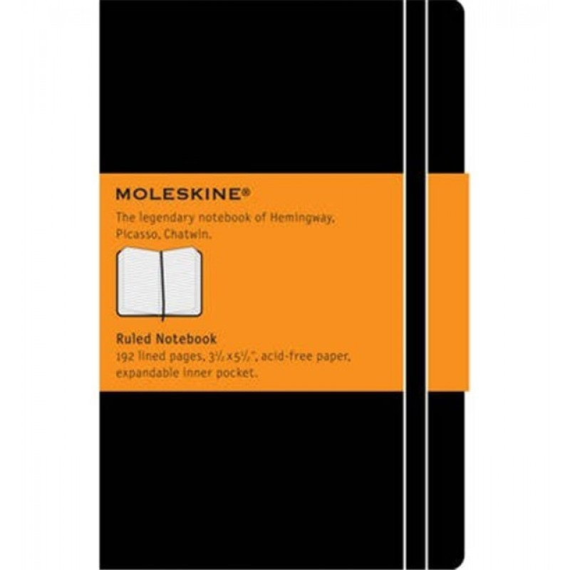 Moleskine Ruled Pocket Notebook (ME-MM710)