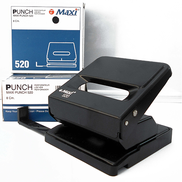 Maxi 520 Puncher 25-sheets capacity - Black (pc)