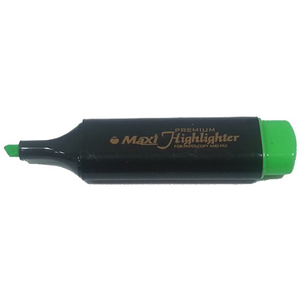 Maxi MX-50 Highlighter - Green (pkt/10pcs)