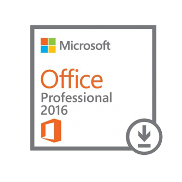 Microsoft Software Office Professional 2016 for windows ESD License